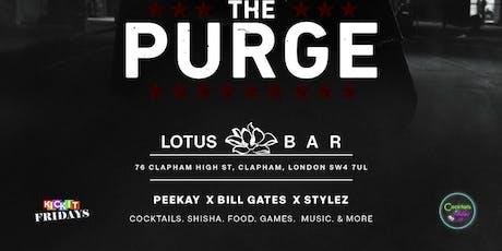 Icebreaker Sundays : The Purge ( KICK IT LINK) tickets