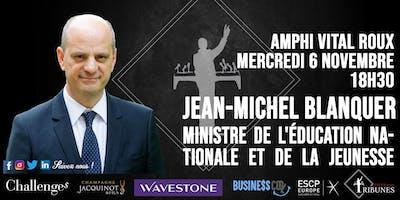 Tribunes reçoit Jean-Michel Blanquer