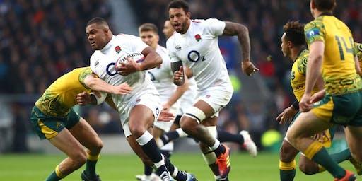 Rugby World Cup Quarter Final Breakfast: England vs Australia