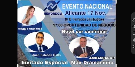 EVENTO NACIONAL  DE NEWORKOM