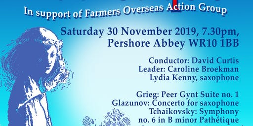 Classical Concert in support of Farmers Overseas Action Group