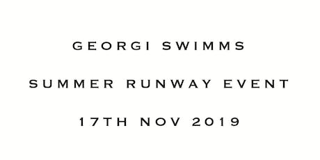 GEORGI SWIMMS ULTIMATE SUMMER LAUNCH PARTY tickets