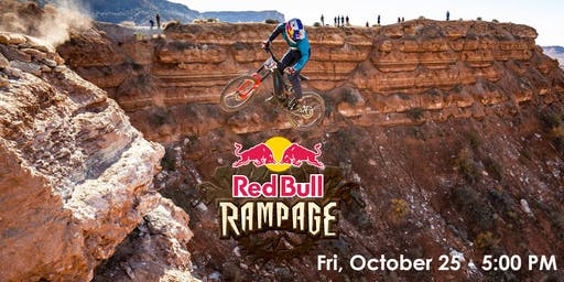 Red Bull Rampage Live on Big Screen