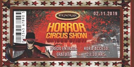 Horror circus show entradas