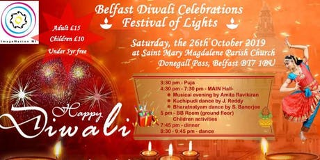 DIWALI - JOIN US FOR PROBABLY THE MOST DIVERSE CELEBRATIONS IN NORTHERN IRELAND tickets
