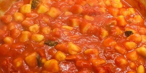 Hands on Cooking Class: Gnocchi alla Sorrentina with Tiramisu