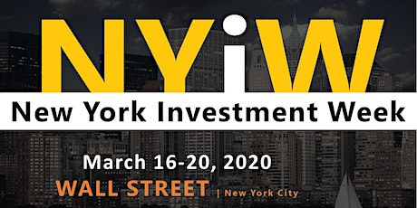 New York Investment Week tickets