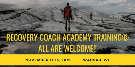5 DAY CCAR Recovery Coach Academy© by Dr. David MacIntyre Consulting, LLC tickets