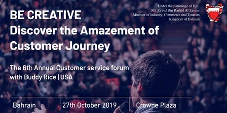 The 6th Annual Customer service forum tickets