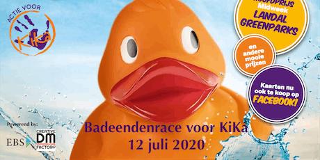 Badeendenrace voor KiKa tickets