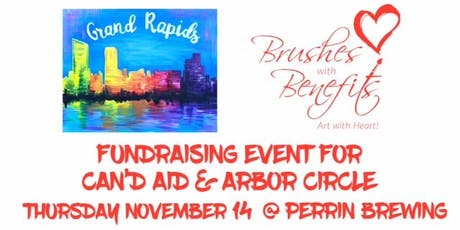 Brushes with Benefits Paint Party, Benefiting Can'd Aid & Arbor Circle tickets