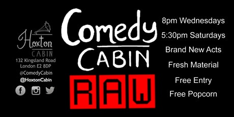 Comedy Cabin: RAW tickets