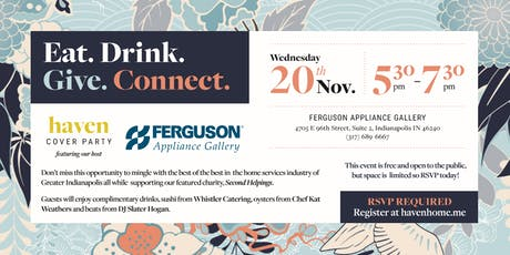 November 2019 Cover Party Featuring Ferguson Appliance Gallery tickets