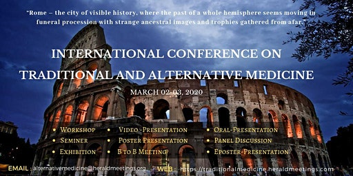 International Conference on Traditional and Alternative Medicine