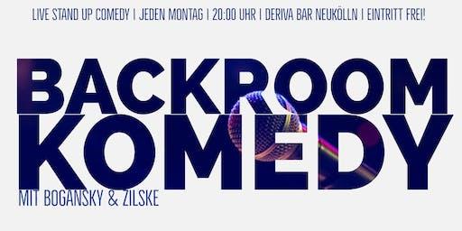 LIVE STAND UP Comedy \\ Backroom Komedy // 14.10.19