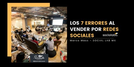 Los 7 Errores al vender por Redes Sociales boletos