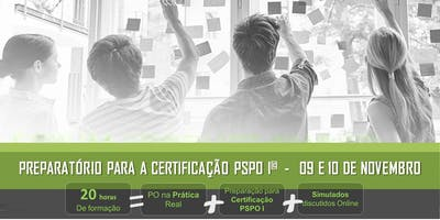 Scrum Product Owner na Prática + Preparatório Certificação PSPO I | São Paulo