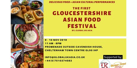 GLOUCESTERSHIRE ASIAN FOOD FESTIVAL  tickets