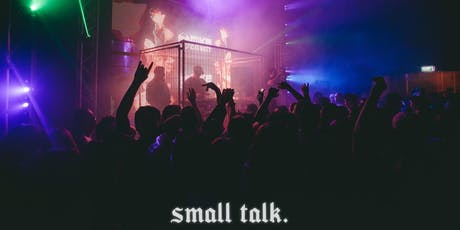 small talk. | halloween. (U18) tickets