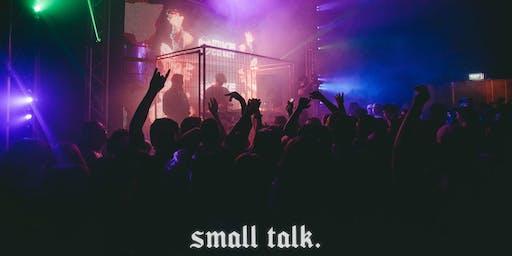 small talk.   halloween. (U18)