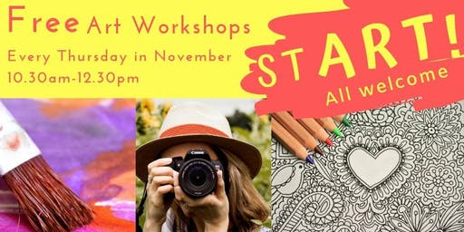 Free Art Workshops