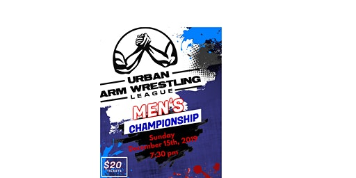 Urban Arm Wrestling League Qualifying POP UP Event
