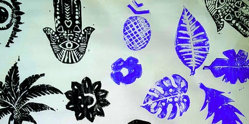 Block Printing Workshop by Creative Cozmoz