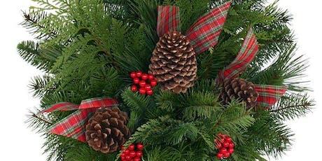 Create your own Outdoor Christmas Urn: Mapleton Preschool - DECEMBER DATE! tickets