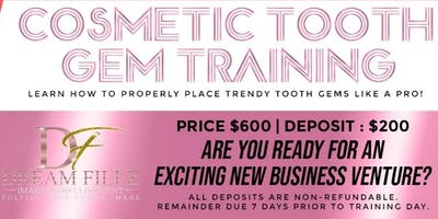 ($600) DREAMFILLZ COSMETIC TOOTH GEM TRAINING COURSE 101