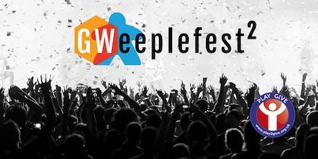 Gweeplefest 2 tickets