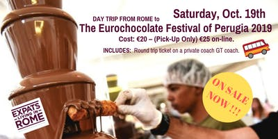 The Eurochocolate Festival of Perugia 2019