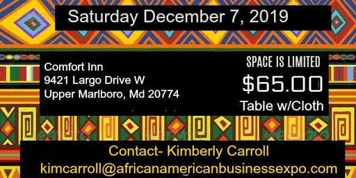 African American Business Expo Call for Vendors