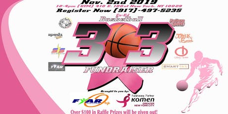 BreastCancerAwareness & Youth Program 3on3 Basketball Fundraiser tickets