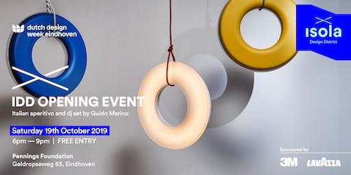 IDD Opening Event — Dutch Design Week