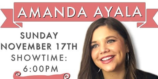 "Amanda Ayala - ""The Voice"" Performer -Live"