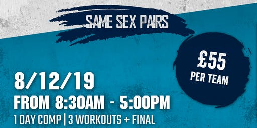ION FITNESS SERIES 20.2  - Same Sex Pairs