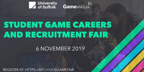Game Anglia Career Fair 2019 - University of Suffolk tickets