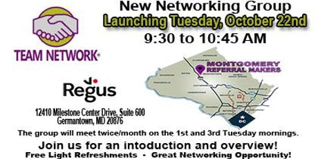 New Team Network Forming in Germantown tickets