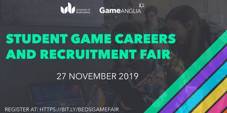 Game Anglia Career Fair 2019 - University of Bedfordshire tickets