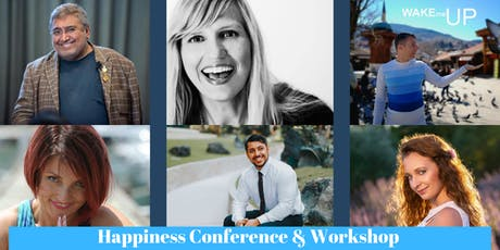 Happinesse Conference & Workshop Wake me Up tickets