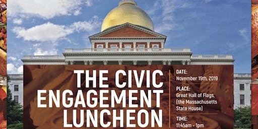 The Civic Engagement Luncheon at the Massachusetts State House
