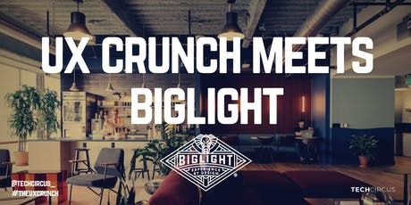 UX Crunch Meets Biglight tickets