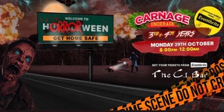 HORROR-WEEN - 3rd & 4th Years tickets