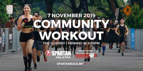 PG Free Spartan Community Workout - 7th Nov 2019 ( Thursday ) tickets