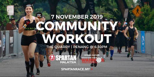 PG Free Spartan Community Workout - 7th Nov 2019 ( Thursday )