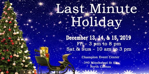 Last Minute Holiday Craft & Vendor Show