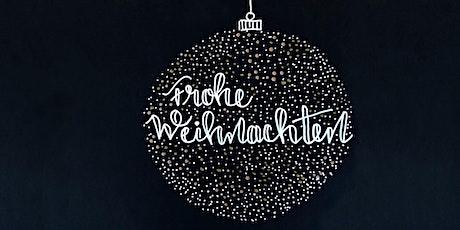 Weihnachtsspecial: Sparkle & Shine! Metallic-Effekte auf Papier Tickets