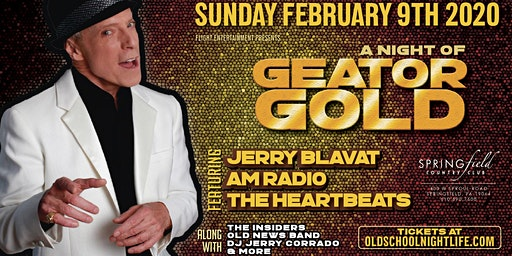 Jerry Blavat, AM Radio, Heartbeats, Insiders, Old News Band & more...