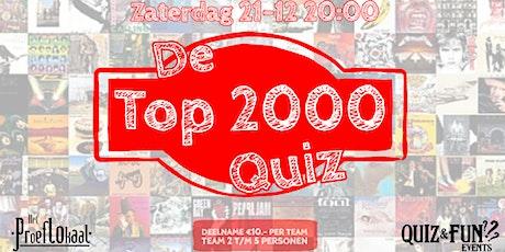 De Top 2000 PopQuiz | Waalwijk tickets