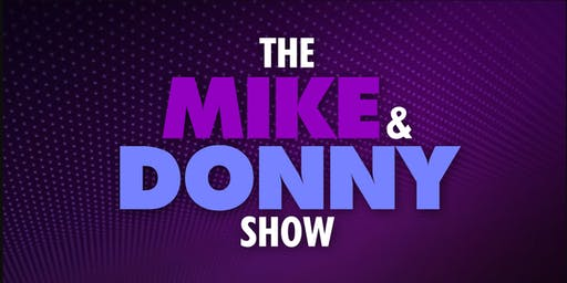 Fox Soul: The Mike & Donny Show (Live TV Taping) Hosts Mike Hill and Donny Harrell.